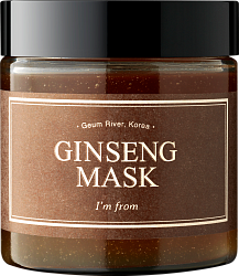 Маска с экстрактом женьшеня I'm From Ginseng Mask