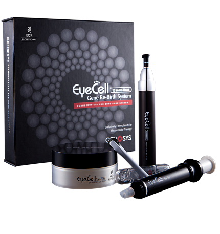 Набор для ухода за областью вокруг глаз Genosys EYECELL Eye Zone Care Kit