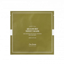 Тканевая маска для лица с полынью I'm From Mugwort Sheet Mask
